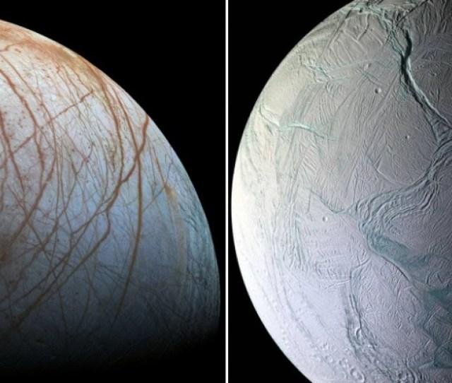 Nasa Jupiter And Saturns Moons Could Have Life