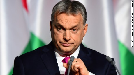 Hungary's Orban warns of backlash against immigration in European Parliament vote