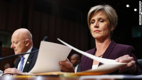 Yates says she raised concerns about Flynn