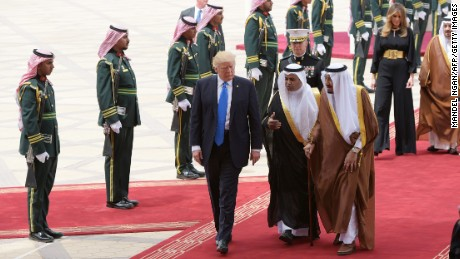 Trump's Saudi embrace was always complicated