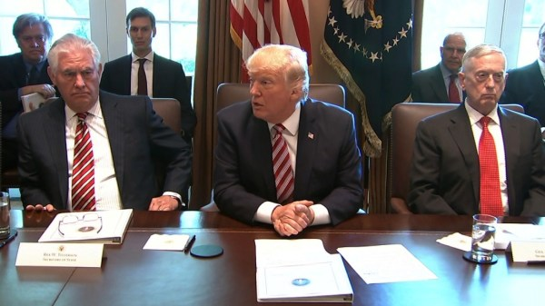 Donald Trump just held the weirdest Cabinet meeting ever ...
