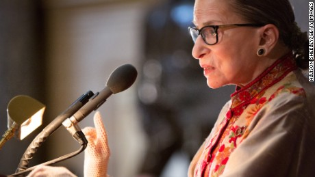 It is hard for me to contemplate the Supreme Court without Ginsburg