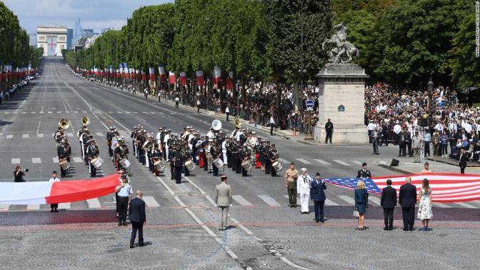 """Image result for Trump: I will go to """"The Paris Military Parade"""" celebrating end of World War 1"""