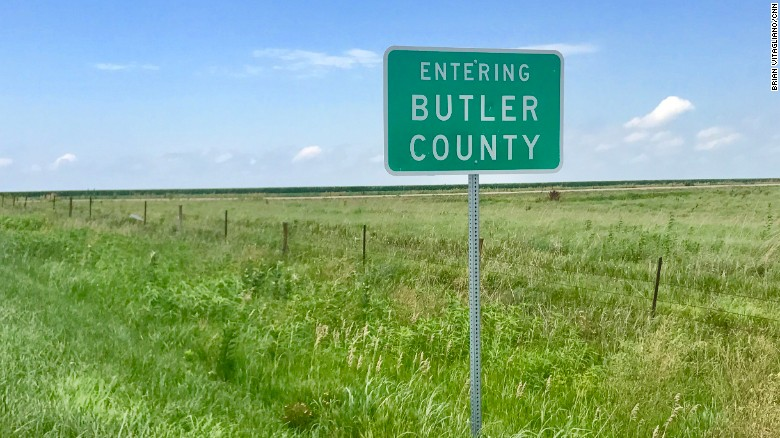 Butler County in Eastern Nebraska is deep in the heart of Trump County. President Trump received close to 80% of the votes in the 2016 Election.