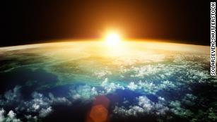 Stratospheric aerosol injection would involve spraying sulfate particles into the Earth's stratosphere at altitudes as high as 12 miles.