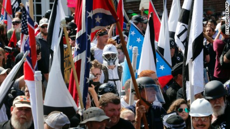 Who are the white nationalists gathering in Washington?
