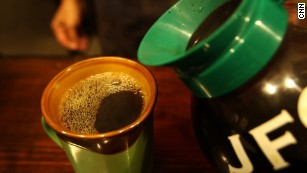 Coffee may come with a cancer warning in California