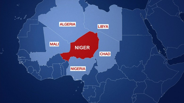 Image result for Map of Niger, Chad, Mali