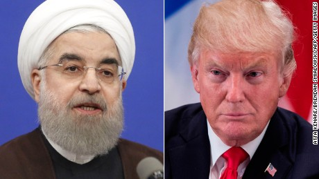 Trump warns countries against doing business with Iran as sanctions kick back in