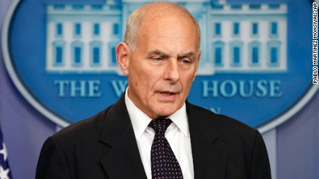 Cillizza: John Kelly's stirring but incomplete attempt to clean up for Donald Trump