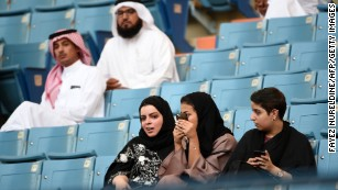 Saudi Arabia to let women into sports stadiums