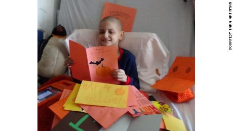 Little Boy Who Got Thousands Of Christmas Cards Loses