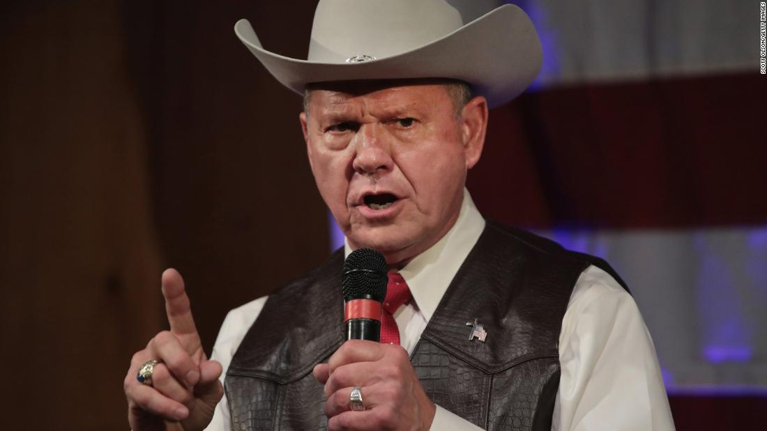 Image result for devil roy moore