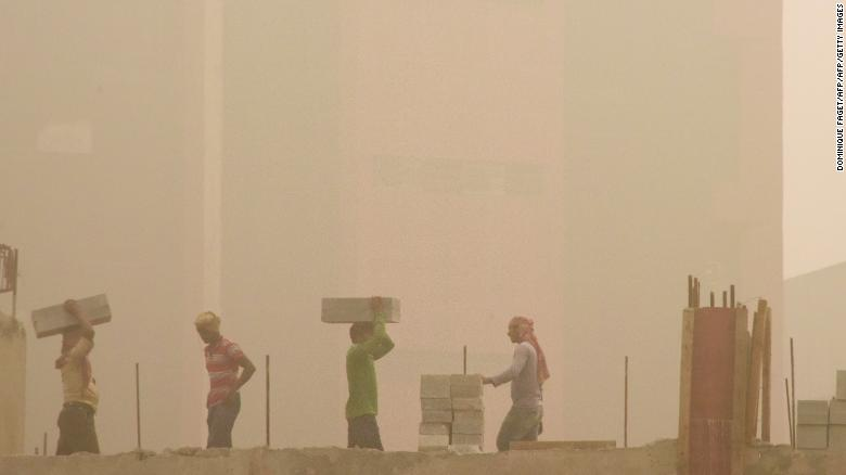 The Delhi government has suspended all civic construction projects as part of several emergency measures intended to help tackle the pollution crisis.