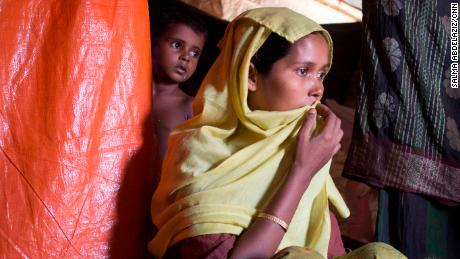 Rashida Begum says she was raped by multiple Myanmar soldiers before she fled to the refugee camps in Bangladesh.