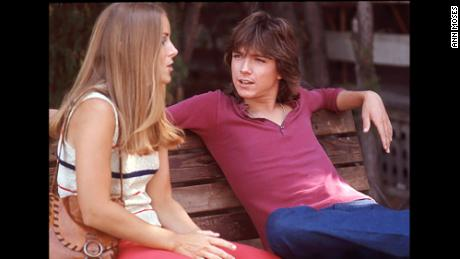 Ann Moses, former Tiger Beat editor, with David Cassidy in the early '70s.