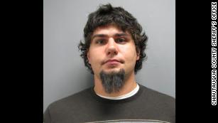 Thomas Jadlowski, shown in a photo taken for his firearm license.