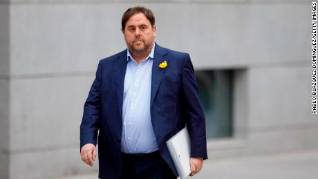 Oriol Junqueras, leader of the pro-independence Esquerra Republicana de Cataluyna party, is in a Madrid prison over the separatist push.