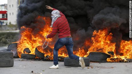 'Jerusalem is our right': Palestinians enraged by Trump decision