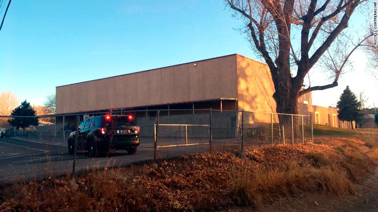 Two students were killed at Aztec High School in New Mexico on Thursday.