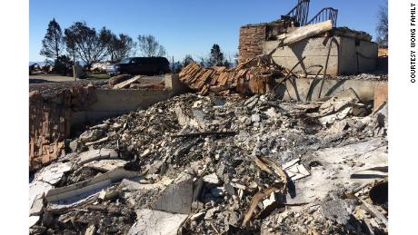 Dr. Antonio Wong's Santa Rosa house burned in October. He lost a rental house last week in Ventura.