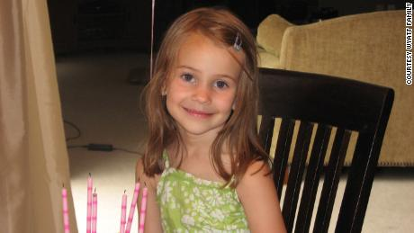 "Allison Wyatt was a ""sweet, creative, funny, intelligent little girl,"" her parents said."
