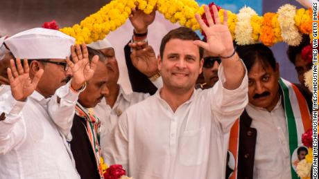 Gandhi family scion elected leader of India's Congress Party
