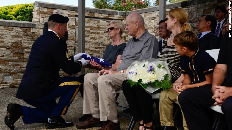 Missing Korean War soldier given proper burial, 66 years later
