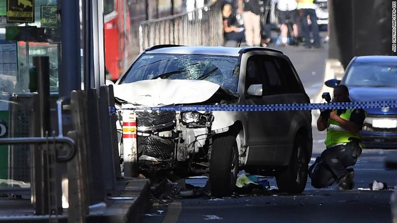 Image result for SUV terror attack in Melbourne