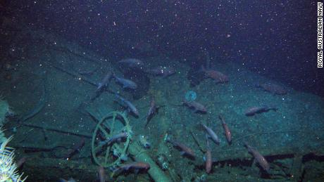 """The submarine has been described as """"remarkably well preserved."""""""