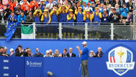 Bjorn last played at the Ryder Cup in 2014 at Gleneagles