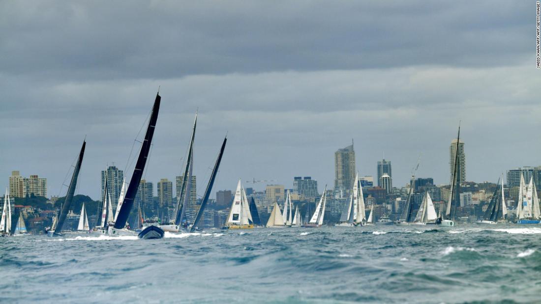 The 2017 Sydney Hobart Yacht Race CNN Video