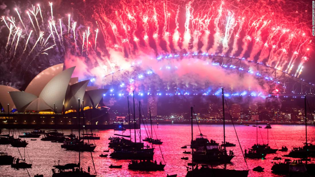 New Year s 2018 celebrations around the world New Year  39 s fireworks are seen above the Opera House and Harbour Bridge   Photos  New Year s 2018 celebrations