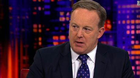 Spicer on time in Trump White House