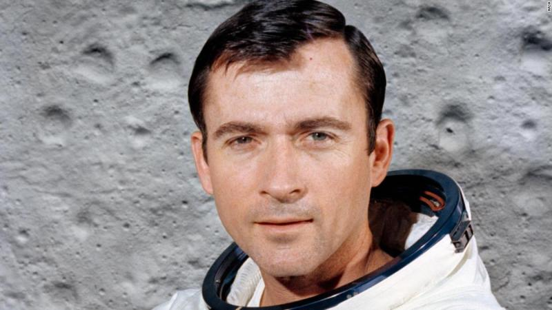 """Former astronaut <a href=""""http://www.cnn.com/2018/01/06/us/john-young-obit/index.html"""" target=""""_blank"""">John Young</a>, a NASA trailblazer whose six journeys into space included a walk on the moon and the first space shuttle flight, died January 5 after complications from pneumonia, NASA said. He was 87."""