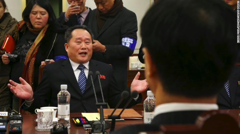 Hasil gambar untuk North and South Korea agree to hold talks on easing military tensions