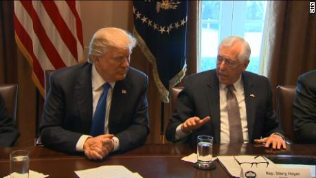 Trump contradicts self repeatedly in immigration meeting