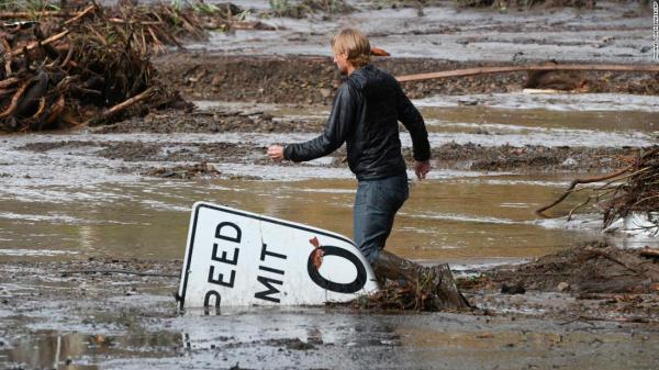 Photos: Deadly mudslides in Southern California