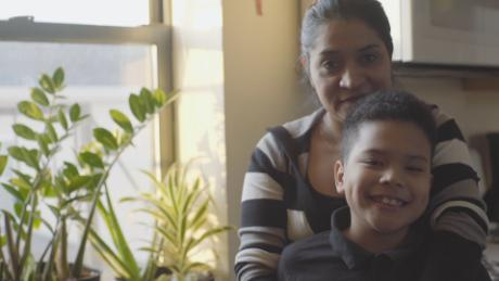 Everything is here: Her life, her home, her son. Now she's being told to leave