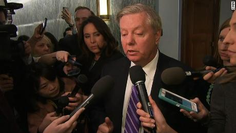 Republican Sen. Lindsey Graham: 'I'm not going to vote' for funding bill