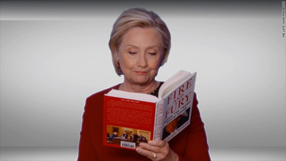 Image result for hillary at grammy awards 2018