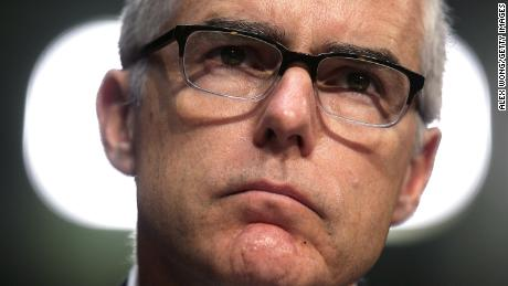 Wray hints to FBI staff that coming IG report played role in McCabe departure