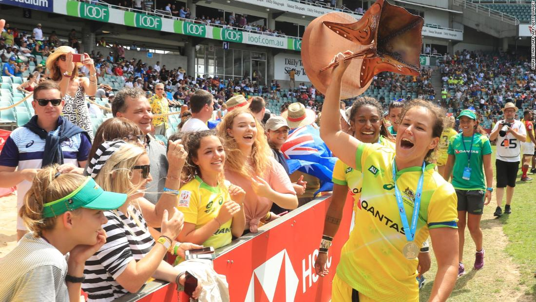 """Australia's women enjoyed a storming start to the season. <a href=""""https://edition.cnn.com/2018/01/29/sport/sydney-australia-rugby-sevens-world-series/index.html"""">In Sydney</a>, Tim Walsh's side became the first team ever to go a whole tournament without conceding a point."""