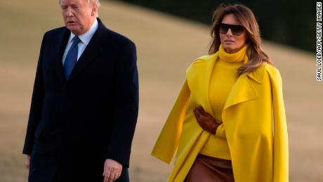 First lady joins Trump on Ohio trip, visits children's hospital