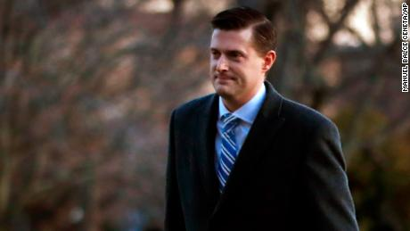 Top Trump aides defend White House response to Porter abuse allegations