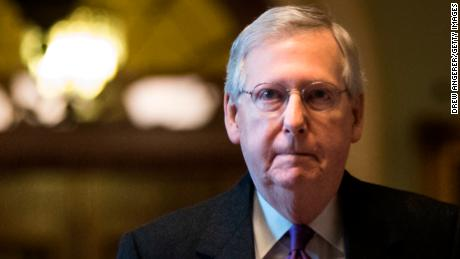 McConnell denounces Trump's plan for tariffs on imported aluminum and steel