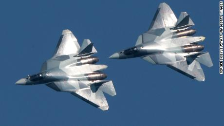 Russia's most advanced fighter arrives in Syria