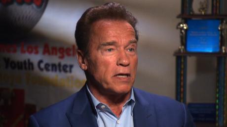 Arnold Schwarzenegger has open-heart surgery to replace valve