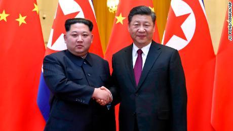 North Korea's Kim Jong Un met Xi Jinping on surprise visit to China