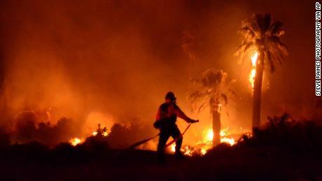 Arson suspected in fire damaging historic landmark at Joshua Tree National Park